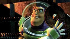 Buzz Lightyear's catchphrase from Toy Story
