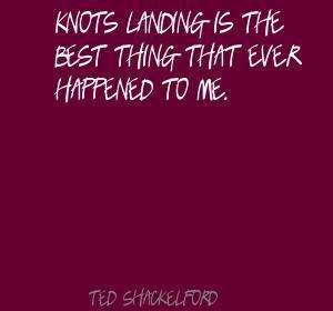 Knots Landing est la meilleure chose qu'il me soit jamais arrivé.