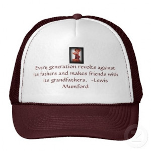 vintage inspired hat with famous quote for grandfather on fathers day