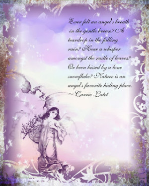 ... comforting guardian angels posted some wonderful angel quotes and
