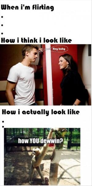 flirting, funny guys