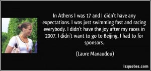More Laure Manaudou Quotes