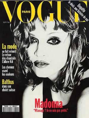 Vogue Paris 1993 Madonna by Ellen Von Unwerth