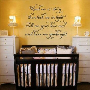 Baby Room Quote