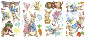 ... Decals Baby & Toddlers Baby Animals & Toys Peter Rabbit Wall Stickers
