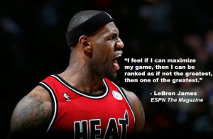 Lebron James Quotes About Haters Lebron james thinks he could be one ...