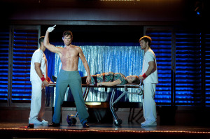 ... lines in the first Magic Mike, how much more will we hear you speak