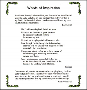 ... pages of scriptural passages and poems sayings and elegies by walt