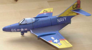 ... Grumman F9F-8 Cougar. This model comes with these versions