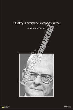 Posters on Quality Quotes by Great people like Henry Ford, Deming ...