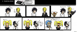 Death Note And Bleach...