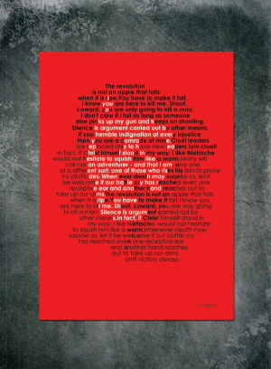 Che Guevara Famous Quotes Poster