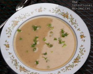 Recipe: Roasted Cauliflower and Garlic Soup