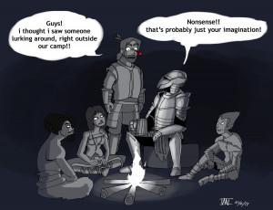 Skyrim Logic Food Skyrim: bandit logic by
