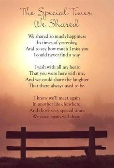 Dear Brother your memory will never fade