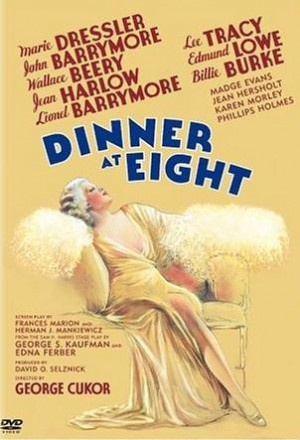 Grab a Seat for DINNER AT EIGHT Tonight on TCM