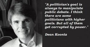 Dean Koontz quotations, sayings. Famous quotes of Dean Koontz.