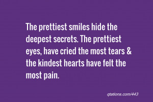 Sad Crying Eyes With Quotes The prettiest eyes, have cried