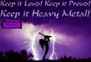 Heavy metal....