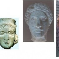 Ancient Greek Goddess Hera is one eyed