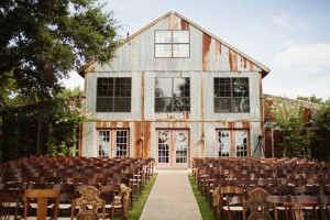 Rustic Outdoor Wedding Venue Texas