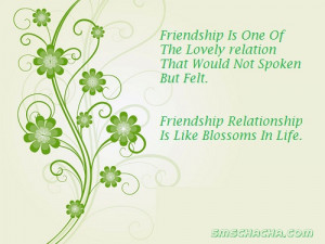 Friendship Sms With Photo