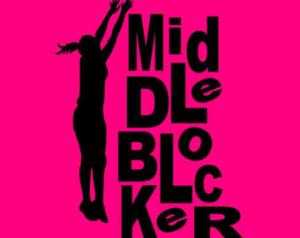 Volleyball Shirt// Volleyball PLaye r Hitter// Volleyball Girls//Team ...