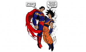 Check out this awesome flipbook animation of Goku Vs Superman. My gill ...