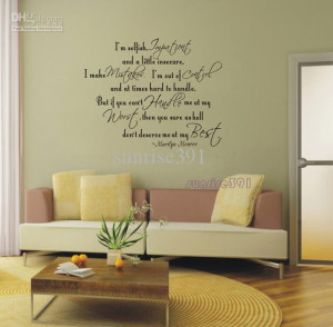 ... Quote Wall Stickers Home Art Decal Sticker living room bed room Quotes