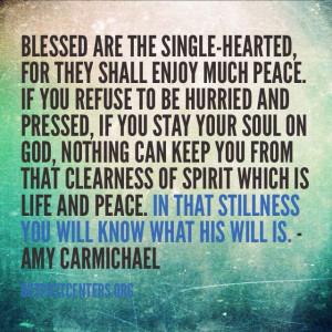 Amy Carmichael Quotes