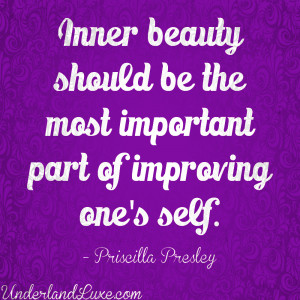 Inner Beauty Of A Woman Quotes Your inner beauty