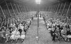 It's tent revival season throughout Appalachia – the region that ...