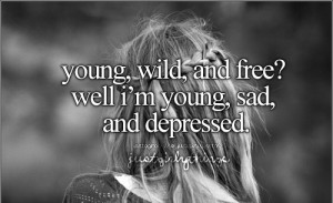 sad quotes, smile, just girly thing sayings