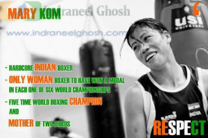 Super MOM Mary KOM