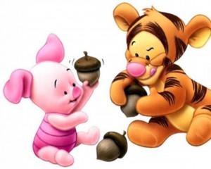 baby Tigger e Piglet