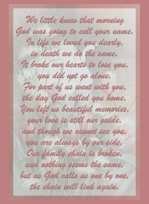 grandfather quotes and poems | Craftymumz Creations: SYMPATHY/MEMORIAL ...