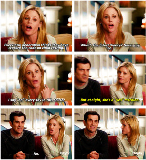 Modern family's quote. Cant stop laughing xD | via Tumblr