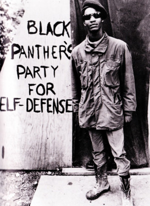 Black Panther's Party for Self-Defense.