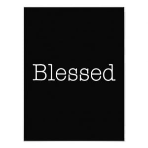 Blessed Quotes Inspirational Faith Quote Photo Art