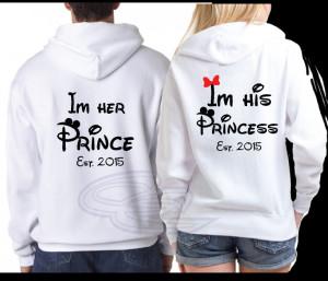 His Princess Her Prince Disney Shirts