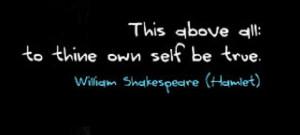 Hamlet Quote