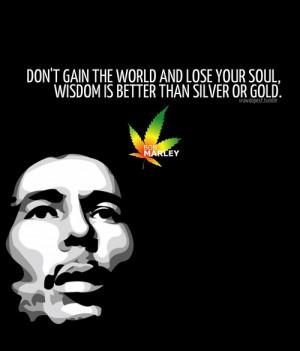 Bob Marley Quotes on Wisdom