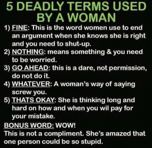 For the guys. no offense girls...