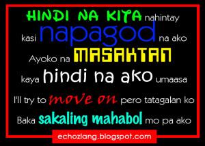 pag nakikita kita nawawalan ako ng GANA, nawawalan akong ng GANANG mag