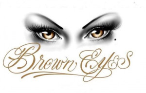 Beautiful Brown Eyes Quotes Pictures