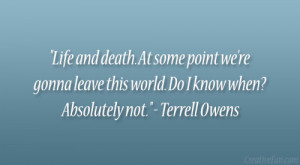 Terrell Owens Quote