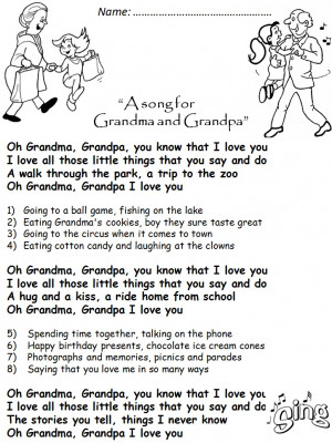 GRANDPARENTS' DAY-