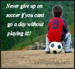 Inspirational Soccer Quotes...