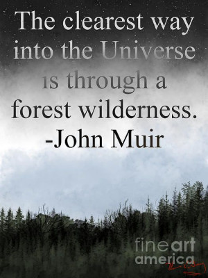 Inspirational Quote from naturalist John Muir