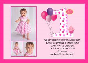 1st Birthday Invitation Wording. 1st Birthday Invitation Sayings ...